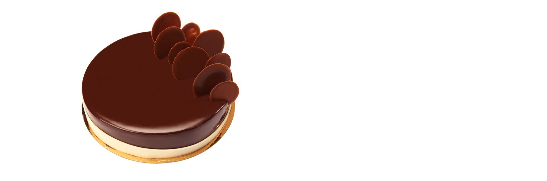 Relook du gâteau Trois Chocolats